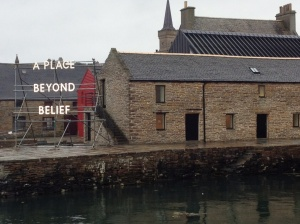 On display at the Pier Arts Centre, Stromness, Orkney